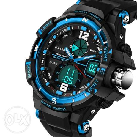 Quartz Digital Watch Men G Style Waterproof Sports
