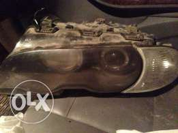 Bmw headlight xenon left side