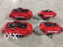 brembo 6 Pistons front and 4 Pistons rear