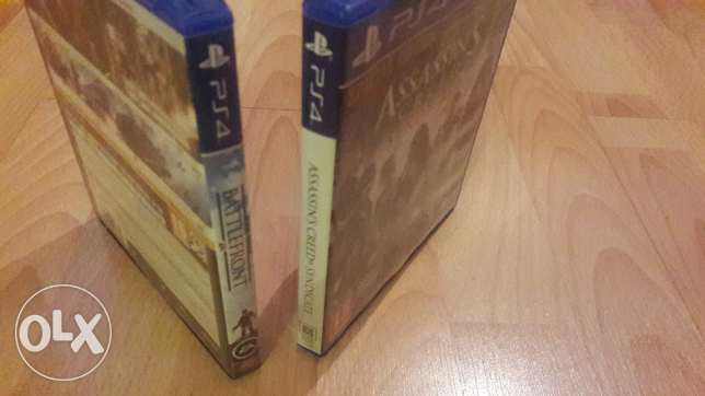Ps4 games assasin creed and star wars for special price