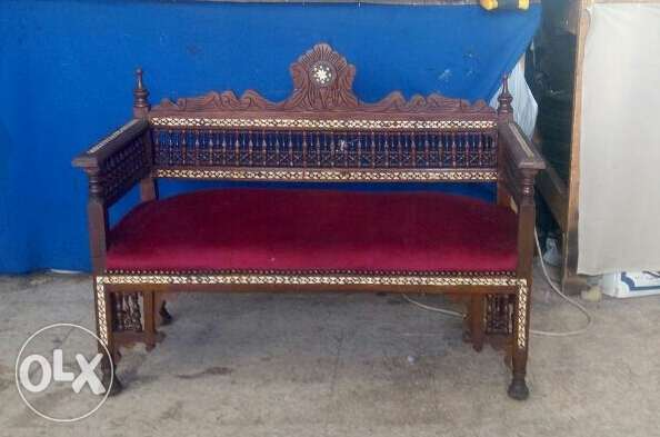 Bench arabesque antique