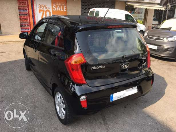 Kia Picanto 2012-Black-Like new غازير -  5