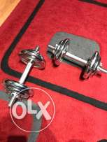 used dumbbells in mint condition
