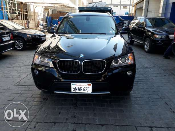 Bmw x3 2011 xdrive black & black