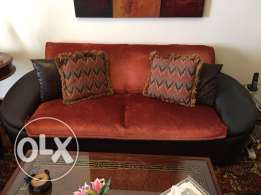 leather couch now for only 50$