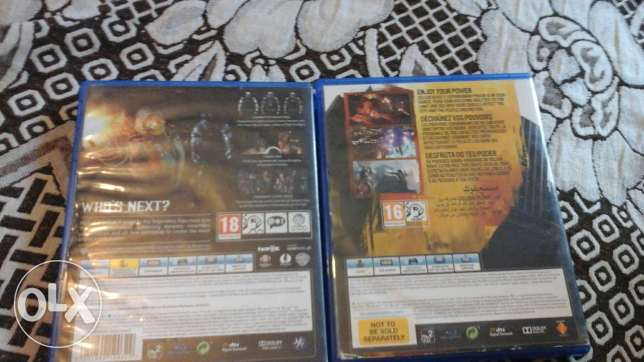 Ps4 2 games for sale شويفات -  2