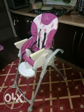 Highchair almost new.