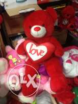 Red Love Bear