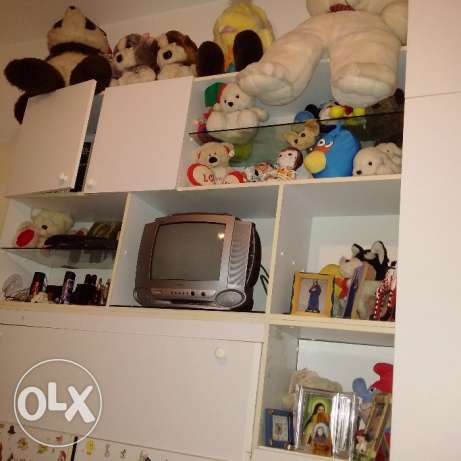 Huge Collection of Plush (more than 50 piece) + Old Television