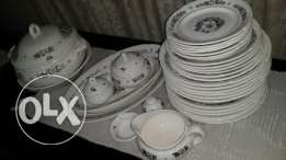 Russian dinner set 6 persons