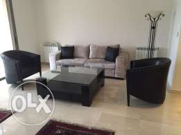 2 bedrooms brand new in sioufi,heating, parking,generator, AC