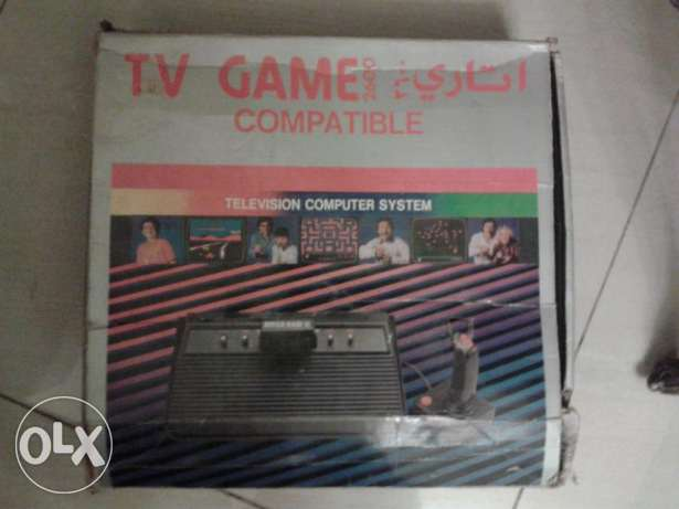 still in original box old tv game atari 208 built in games