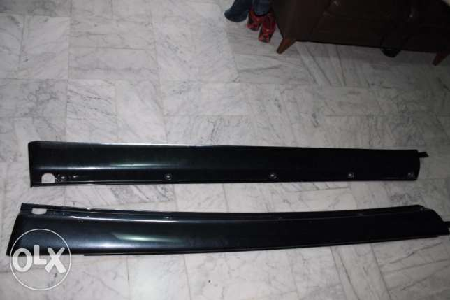 Mercedes ML Side Skirt