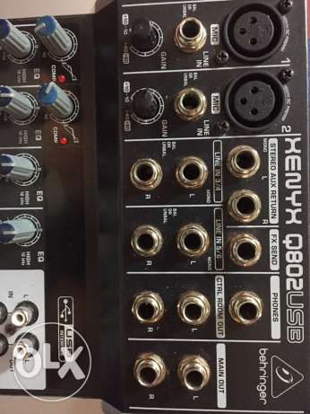 behringer 802 in good condition