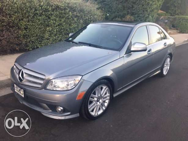 2008 mercedes C 300 gray clean carfax low mile 10 days for delivery كسروان -  1