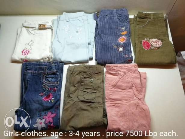 Kids Clothes. still as new. description on each pic.