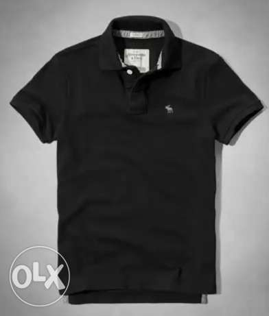 Original Abercrombie&Fitch Black Polo