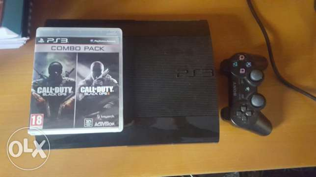 Ps3+wireless controller+call of duty combo +HDMI