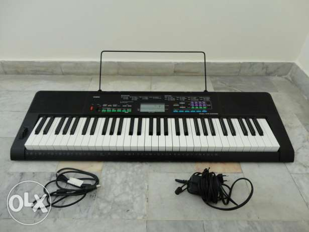 Casio CTK-3400SK Piano (with its accessories)
