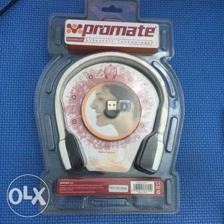 Promate Bluetooth headset plus Usb dongle Bluetooth new