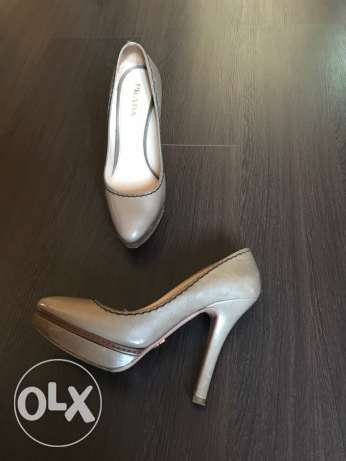 Roberto Cavalli brown high heels shoes for sale