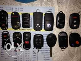 key less entry for all cars REMOTE KEY