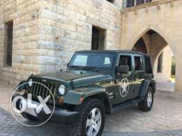 jeep wrangler sahara unlimited 2008 full option clean carfax