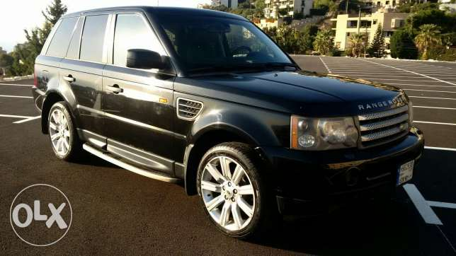 Range Rover 2007 Super charge أدما والدفنه -  5