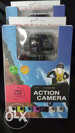 Action cam 4 k wifi live recording..