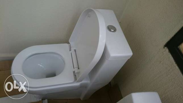 Two new toilets