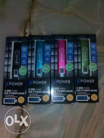 Free shipping 3000mah power bank Xpower3 brand new