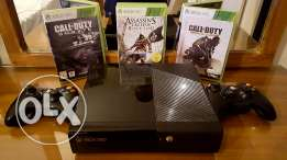 Xbox 360 + controllers + games