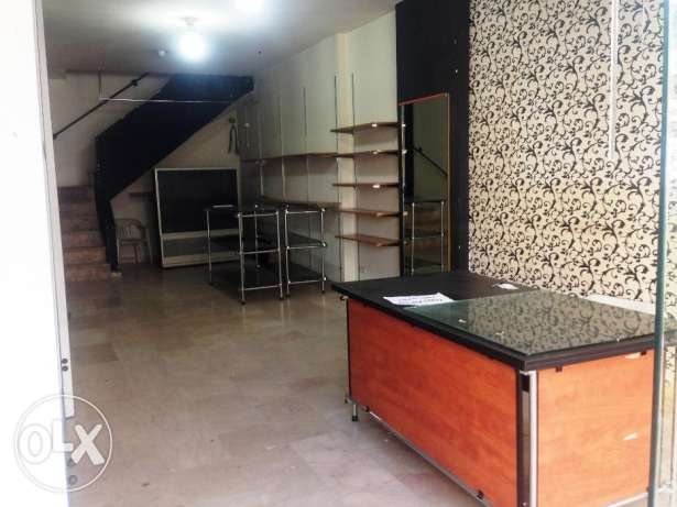SHOP for rent,JDEIDEH 90m المرفأ -  2