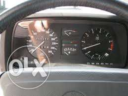 Bmw e23 kilometer tablo