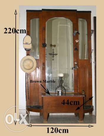 Antique Console Wall Mirror