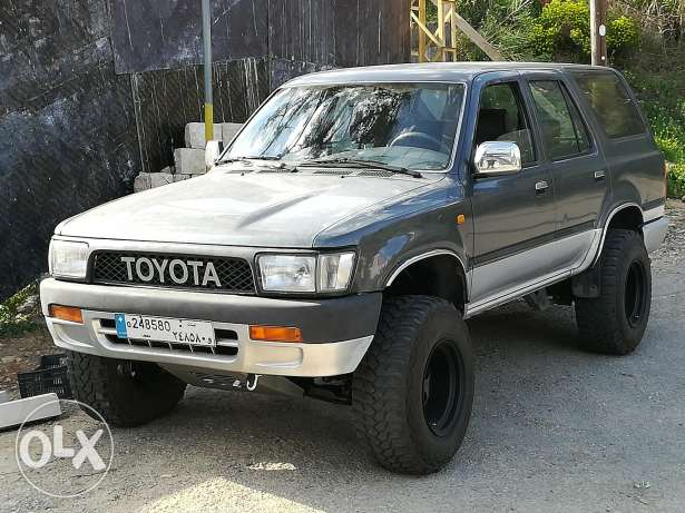 a 4x4 offroad camping toyota