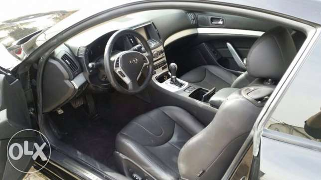 2008 G37 coupe black technology package سن الفيل -  5