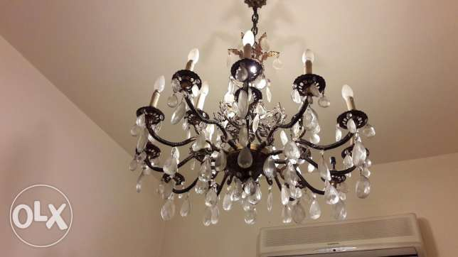 2 ) Antique chandelire