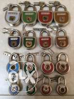 Antique hungarian padlocks
