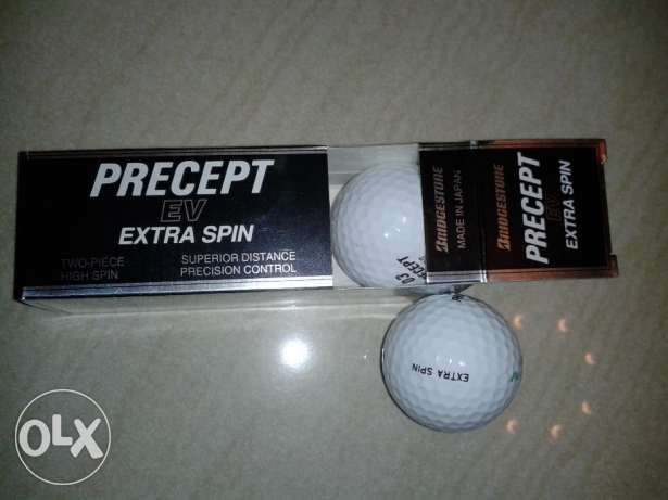 pack of 3 new bridgestone golf balls