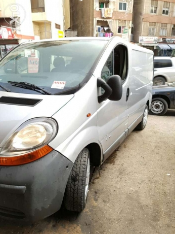 Trafic 2006 full options Ac 2.0 16v ajnabee double airbag jdid