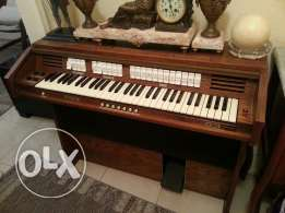 Old Electric church orgue