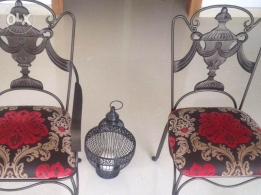 Bergere garden chairs in good condition