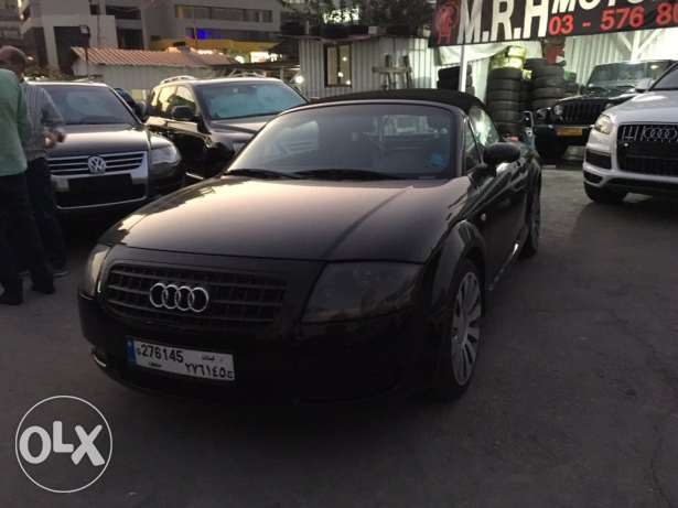 Audi TT 2001 Black Convertible in Good Condition! بوشرية -  5