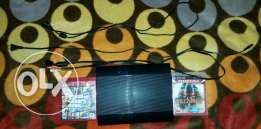 PS3 with GTA V & Killzone 3