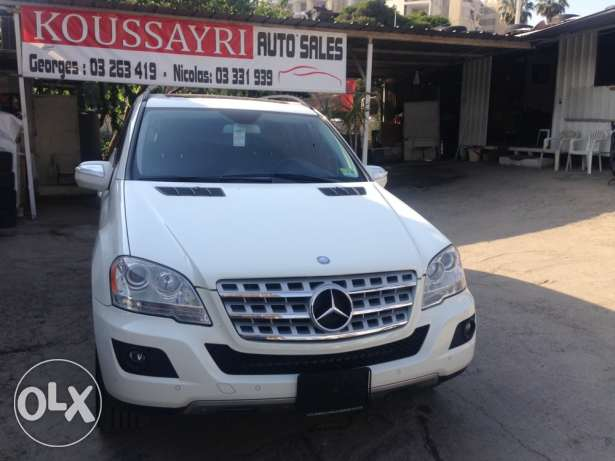 Mercedes Benz ML 350 White/Black