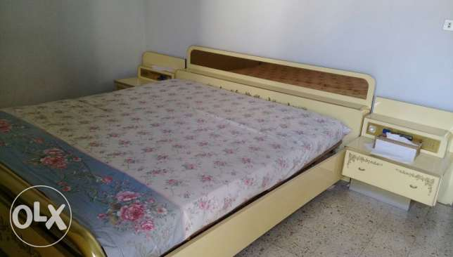 Double bed &rag*wardrobe 6 doors