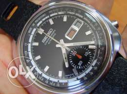 "Collectible 1972 Seiko Chrono Doctor's ""10 Pulsations"" Automatic"