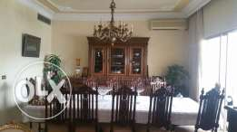Antique Dinner Table & Chairs