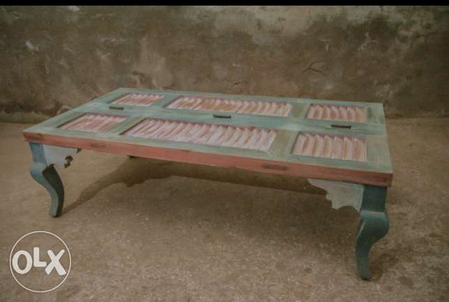 Rustic Pastel Table